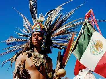 Tezcatlipoca Aztec Dancers